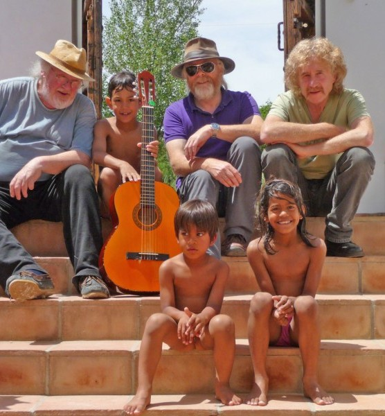 John Renbourn at the Cortijo Workshop 2012